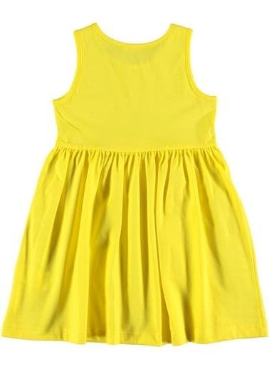 Koton Kids Elbise Sarı